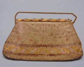 Vintage French Purse For Theater- Opera- Derbies- Weddings- Brides-Holidays- Church-Cruises-Dinner Dances- Gallery Openings-Cocktail Party