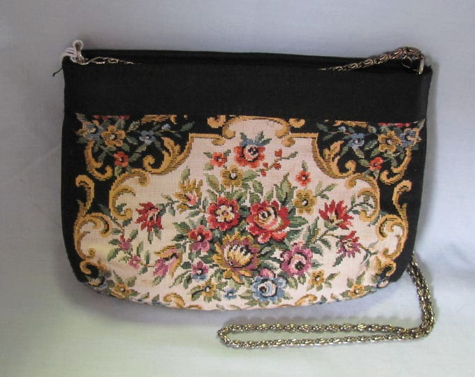 50's Vintage Tapestry Purse MAUI Perfect For Mothers Day, Summer Parties, Weddings, Proms, Cruises And More