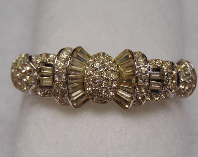 Rhinestone Bracelet For Weddings-Musicals-Theater-Derbies-Opera-Cruises-Holidays-Dinner Dances-Christams Parties- Gallery Openings- Church