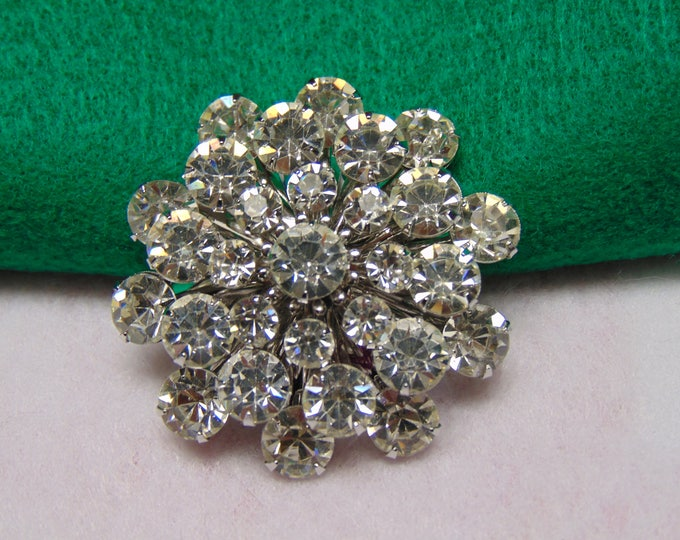 Rhinestone Brooch 50s Style For Easter, Mother's Day, Rodeos, Kentucky Derby, Western Dancing, Proms, Weddings, Cruises, Casual Wear, Partys
