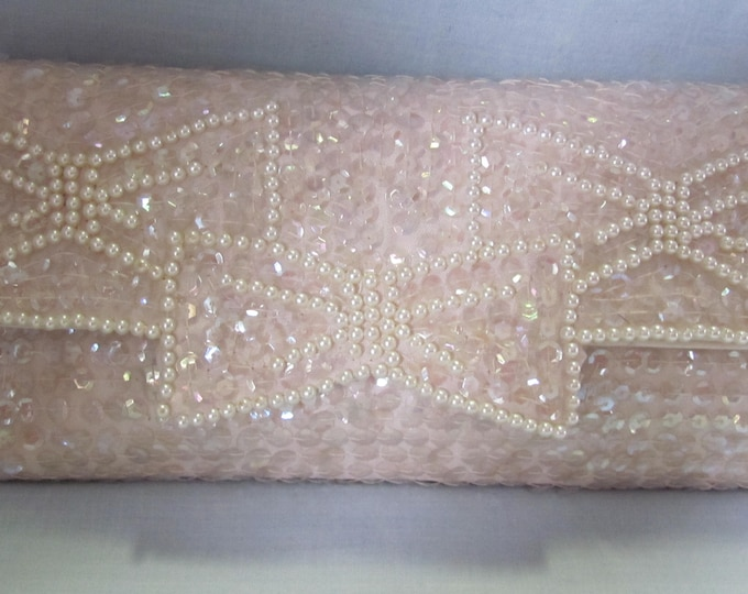 60's Clutch Made In Japan Purse For Mothers Day, Easter, Traveling, Weddings, Proms, Graduations, Showers And More