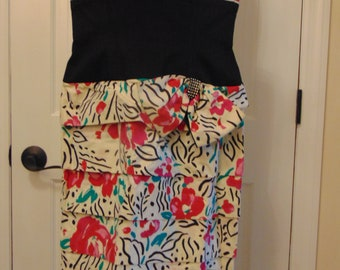 Lilly Rubin Summer Dress For Garden Parties,Barbecues,Weddings,Yatching,Dinners,Luncheons,Country Club,Church,Gallery Opening,Art Shows,Pool