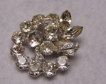 Eisenberg Ice Brooch For Christmas, Holidays, Country Club Parties, Derbies, Western Dances, Musicals, Cruises, Chairty Balls, Weddings,Prom
