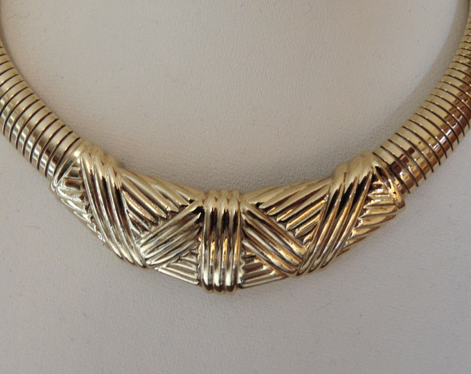 90s Gallery Original Choker For Travel,Church,Business Luncheons,Gallery Openings,Business Conventions,Business Casual,Art Shows,Dinners