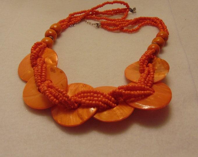 Cruise Necklace-Garden Party Necklace-Summer Necklace- Wedding Necklace- Pool Party Necklace- Luau Necklace-Tropical Necklace-Beach Necklace