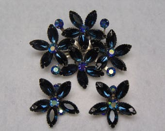 Beaujewels  50's Brooch And Earrings Fashion For Kentucky Derby, Cruises, Western Dances, Proms, Weddings, Easter, Mothers Day And Giftable