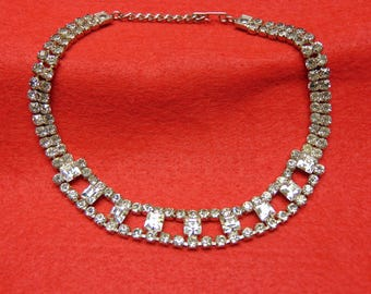 50's Rhinestone Choker For  Proms, Mothers Day, Kentucky Derby, Easter, Cruise Wear, Western Dancing, Rodeos, Entertainers