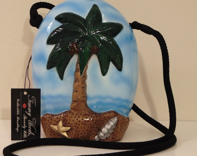 TimmyWoods Sunset Beach Purse For Cruises, Beach Vacations, Luaus, Pool Parties, Boating Trips, Dinner Cruises, Home Decor, Collectors,Gifts