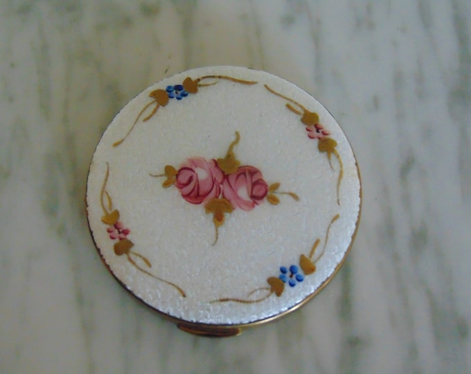 50s Compact For Collectors,Makeup Artists,Cosmetic Bags,Beauty Compact, Compact Mirrors,Toiletry,Vanity Compact,Mirrors, Bridesmaid Gifts,