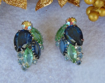 50s Clip On Earrings For Proms, Weddings, Travel, Dinner Parties, Cruises , Western Dances, Chairty Balls, Theater, Gallery Openings