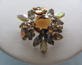 50's REGENCY Brooch Perfect For Fall, Holidays, November Birthdays, Western Dances, Cruises, Weddings, Dinners, Parties