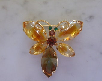 AUSTRIA Butterfly Brooch Fitting For Chairty Luncheons,  May Marts, Spring/Summer Holidays, Outdoor Weddings, Travel, Garden Party,