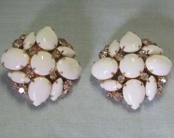 70's MARVELLA Clip On Earrings