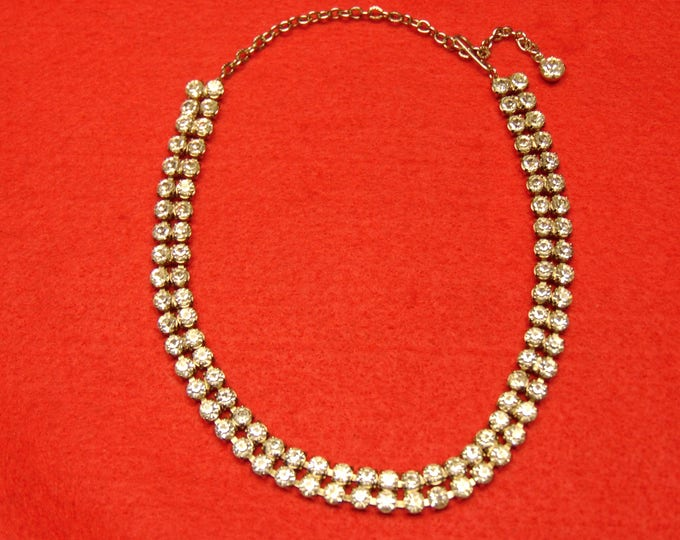 50'  Rhinestone Choker Fashion For Proms, Weddings, Western Wear, Graduations, Easter, Mothers Day And Cruises