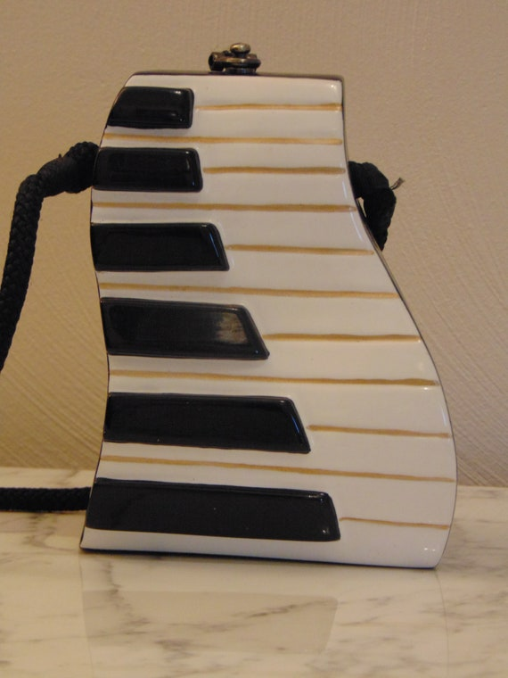 Timmy Woods Piano Purse For Piano Players, Musical