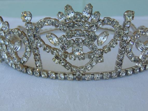 Rhinestone Tiara, Prom Queen Tiara, Miss USA Tiara