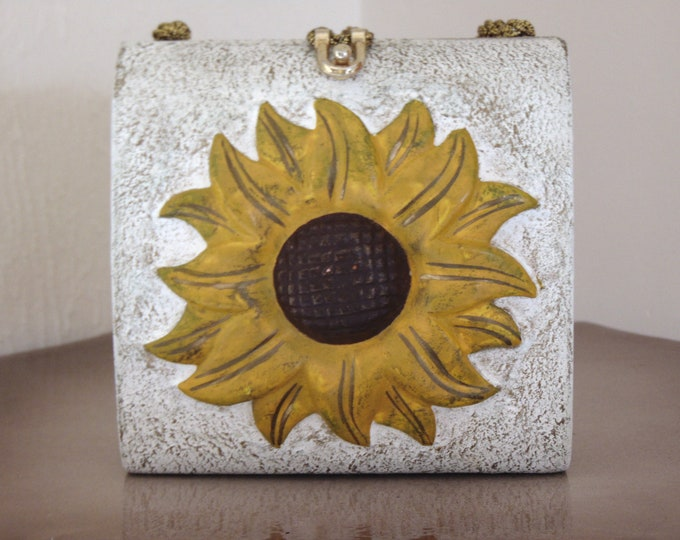 Timmy Woods Sunflower Purse-Retired Timmy Woods Purses-Sunflower Gifts-Designer Purses-Timmy Woods Collectibles-Unique Purse Gifts-Handbags