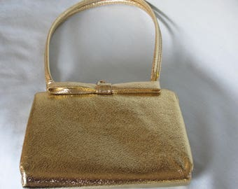 60's Gold Handbag