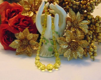 Art Deco Glass Necklace For Weddings, Brides, Cruises, Western Dances, Derbies, Charity Balls, Holidays, Rodeos, Garden Party, Dinner Dance