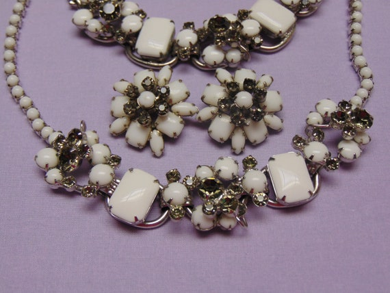 Juuliana Jewelry-50s Jewlery-Vintage Jewelry- Rhin