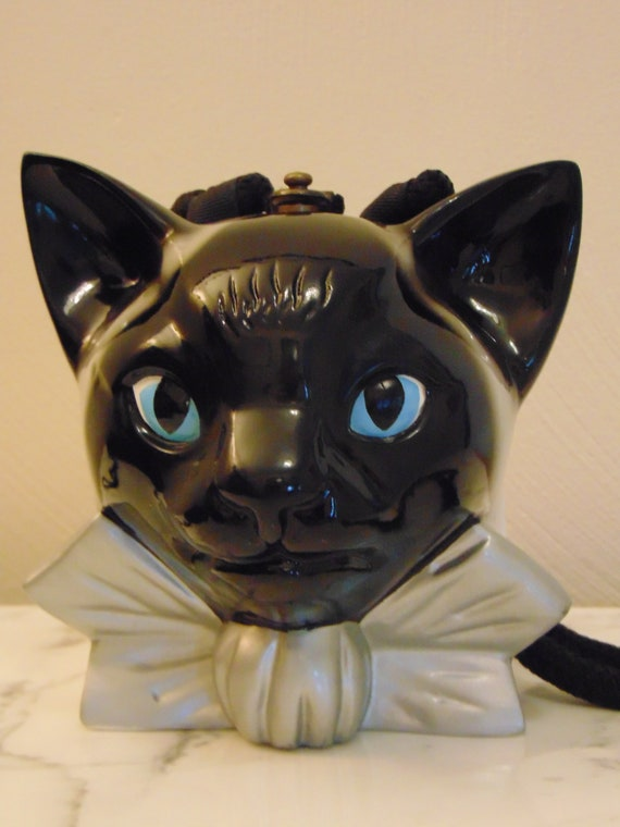 Timmy Woods Siamese Cat Purse For Siamese Lovers,C