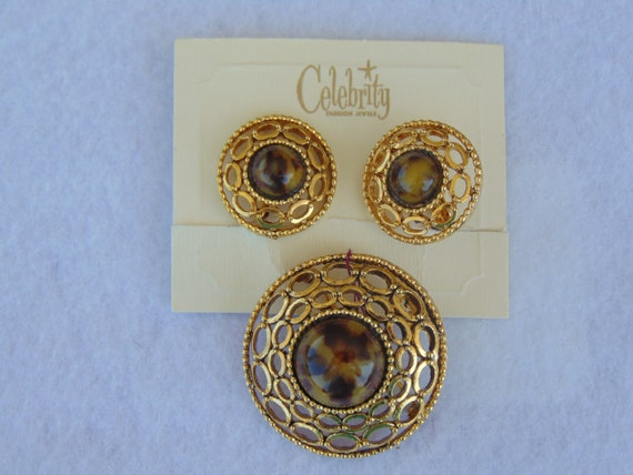 Celebrity 70s Jewelry Set, Vintage Jewelry Set For