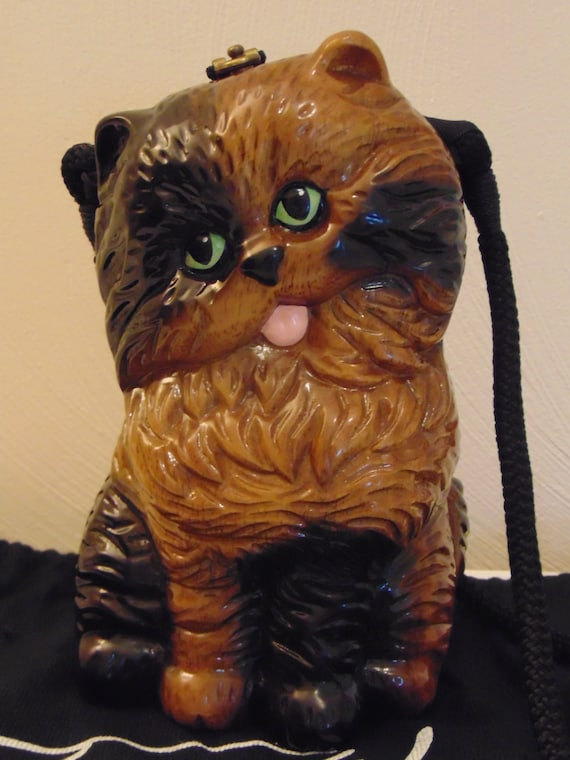 Timmy Woods Cat Purse For Cat Lovers,Mothers Day G