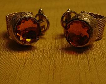 Mens Cufflinks-Gold Cufflinks-Gold Topaz Cufflinks-Unisex Cufflinks-Mens Jewelry-Monogramed Mens Cufflinks-Mens Fashion-Mens Shirts