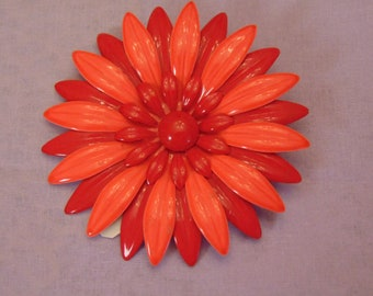60s Flower Brooch For Fashion Bloggers,Concerts, May Day, Kentucky Derby, Mothers Day, Weddings, Graduation, Cruises, Rodeos, & Entertainers