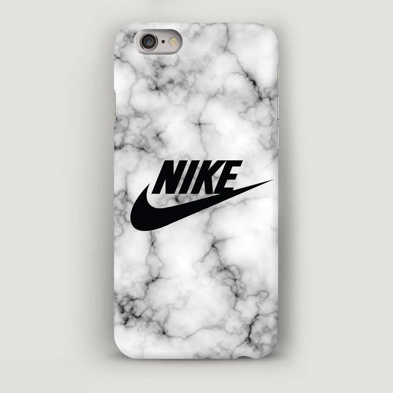 new product 17f9b d0b2b Nike Marble iPhone SE Case, Grey iPhone 5C Case, iPhone 6s Plus Cases, Cell  Phone Case, Marble iPhone 7 Case, Nike iPhone 6 Plus Case