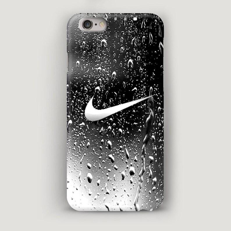 best service ae18e cf546 Rain iPhone 7 Case, Water Drops iPhone 8 Case, Nike iPhone 6 Phone Case,  Grey Phone Cover, Nike iPhone Case, Nike Case for iPhone X