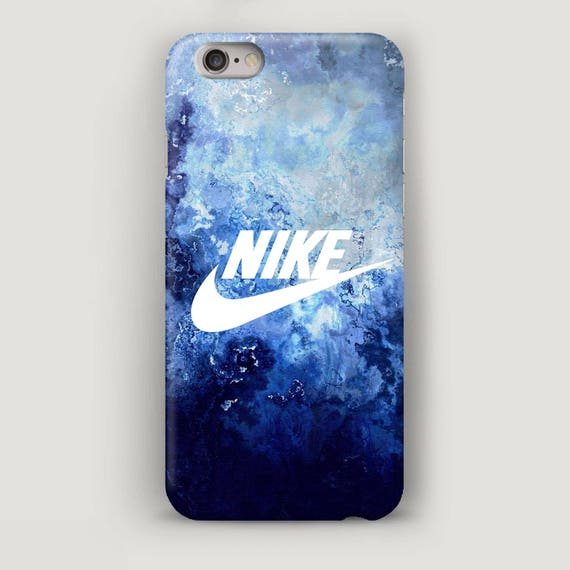 Nike iPhone 7 Case Blue Marble iPhone 7 Plus Case iPhone SE  f1285e50f2c3