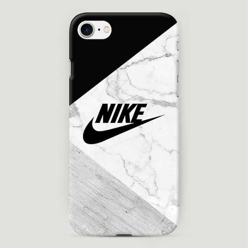 new product bfd2b b4105 Nike Phone Case, Black and Gray Marble iPhone Case, Sport Style Cover for  iPhone X, Stone iPhone XR Case, iPhone 7 Case, iPhone 6 Plus Case