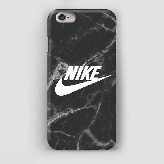 Genialny Nike iPhone 5S Case Black Marble iPhone Case iPhone 5 Case   Etsy NM38