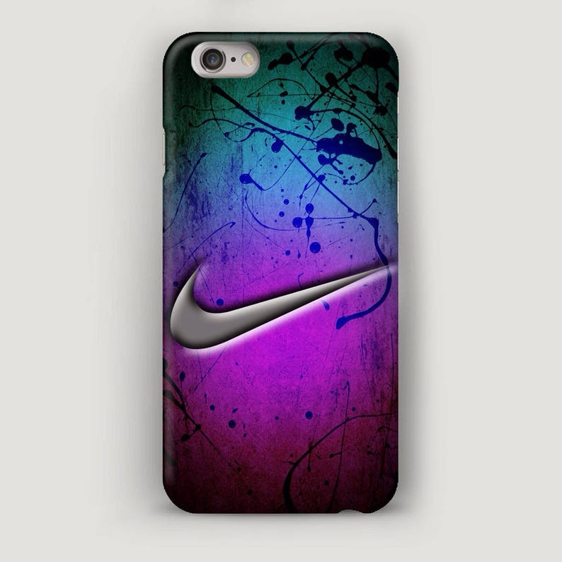 online store 62879 b680a Purple iPhone 6S Case, Art iPhone 8 Plus Case, iPhone 7 Cover, Cell Phone  Case, Nike Phone Case, Nike iPhone 5S Case, Abstract Nike Case