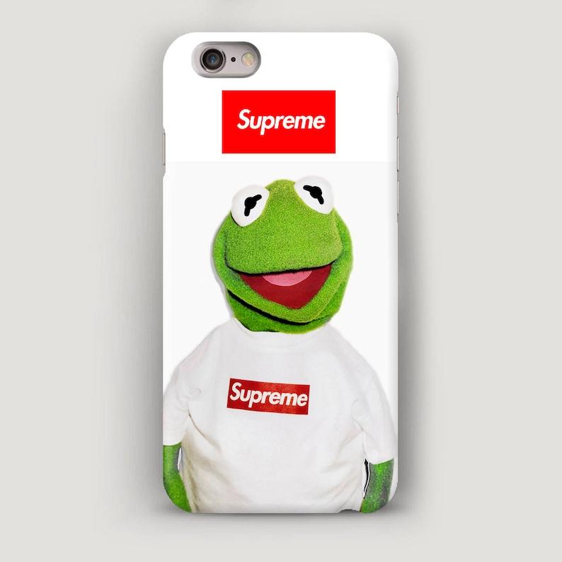 68d2536caec8 Supreme Frog iPhone 7 Case Supreme iPhone 6S Plus Case White