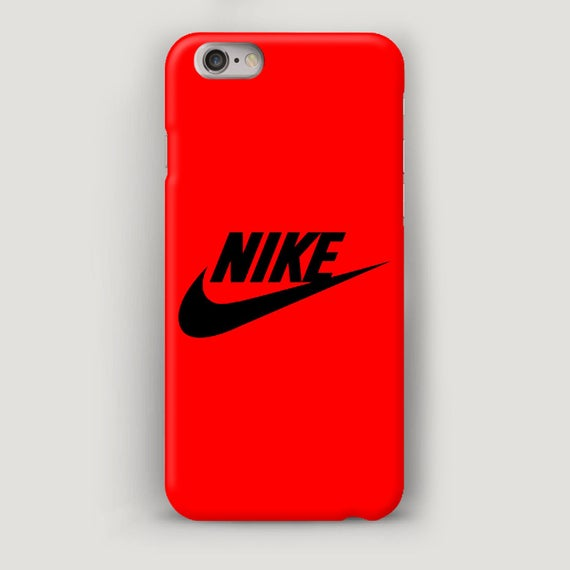 the best attitude 63c76 03f31 Red iPhone 8 Plus Case, Apple Accessory, iPhone 6S Cover, iPhone SE Phone  Case, Minimalist Case for iPhone 6 Plus, Nike iPhone 7 Case