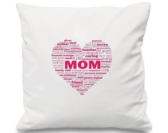 Mom Cushion Love Gift Birthday Mothers Day Gifts