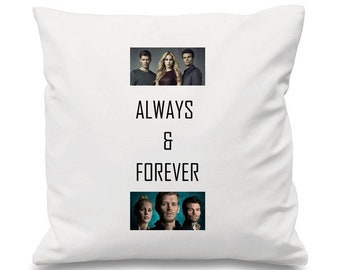 Klaus Mikaelson Cushion,The Originals Cushion, TVD Cushion, The Vampire Diaries Cushion, Elijah Mikaelson Cushion, TV Cushion