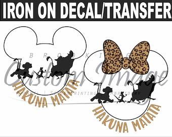 Disney Iron On. Disney Decal. Disney Shirts. 2020/2021 Family. Disneyworld / Disneyland Matching Shirt / Mickey Minnie Mouse / Magic Kingdom