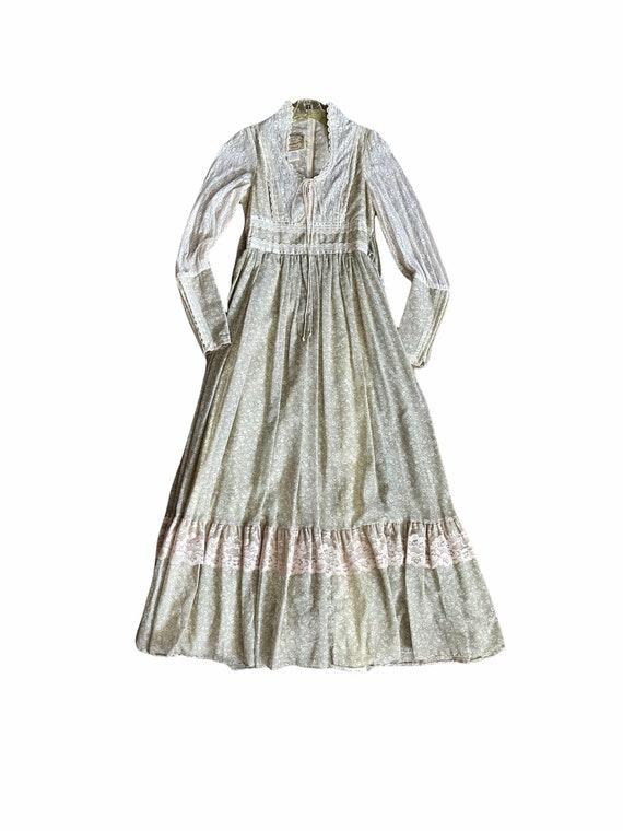 Vintage Gunne Sax Maxi Cottagecore Dress