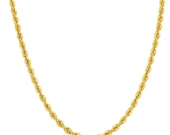 647205028fd 14K Yellow Gold Filled 4.5MM Twisted Rope Chain