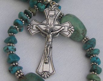 Small Turquoise Rosary