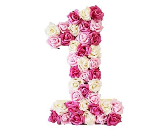 12 Floral Number 1 Flower 1st