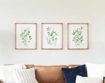 Framed Wall Art Set Etsy