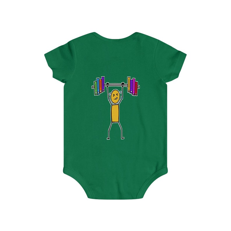 Bibliophile In Training Infant Rip Snap Tee