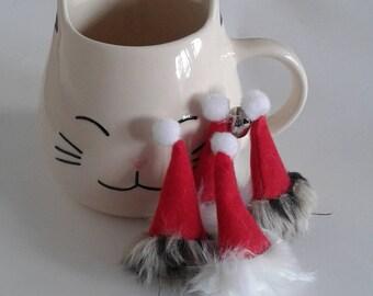Santa Hat NipNips Catnip Toy