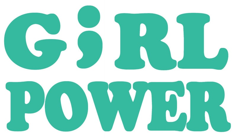 Girl Power Suicide Awareness bumper stickercar decalcar tattoo