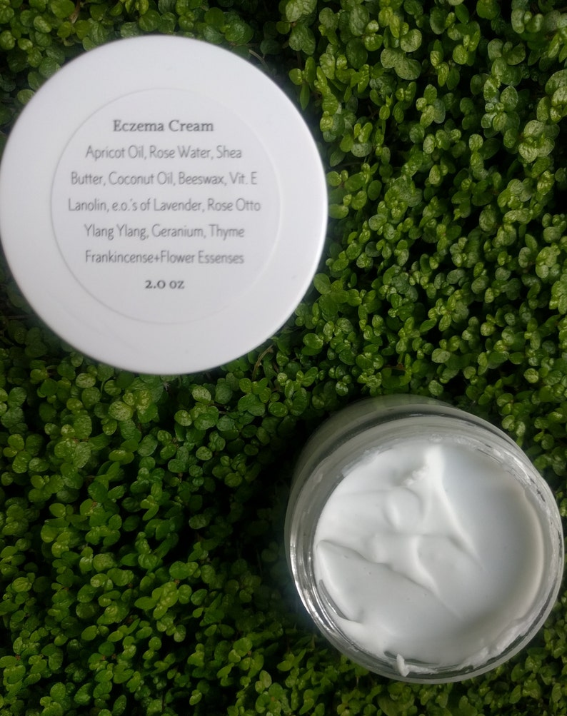 Natural Eczema Cream  For Relief of Fiery Skin Conditions image 0