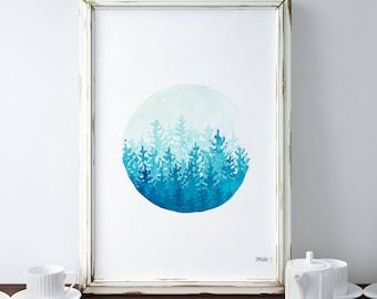 framed art print etsy